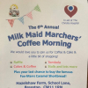 Milk Maid Marchers Charity Coffee Morning