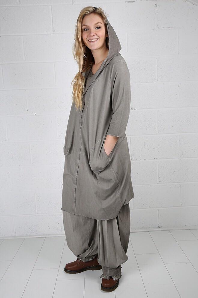 Fabulous italian designer brand luukaa quirky hooded for Italian fashion websites
