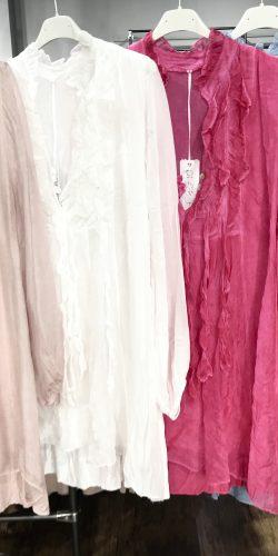 07b35b3fa86 Gorgeous Italian silk floaty layered tunic – Karys